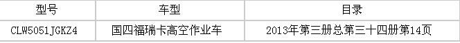 国四东风小霸王高空作业车